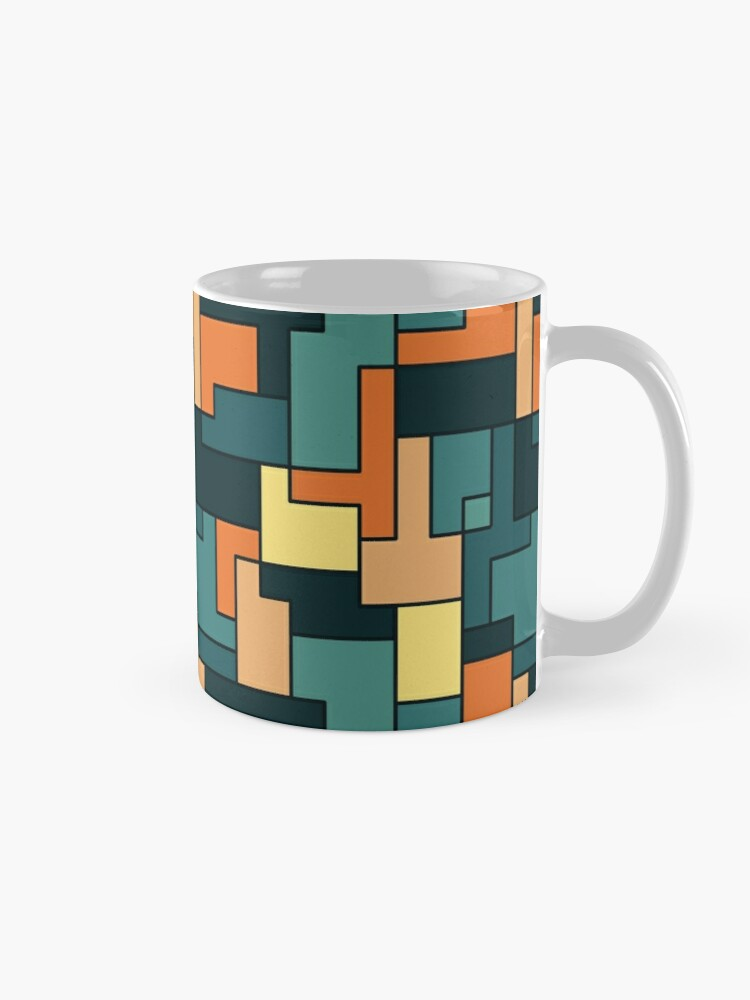 Alternate view of Square pattern Mug