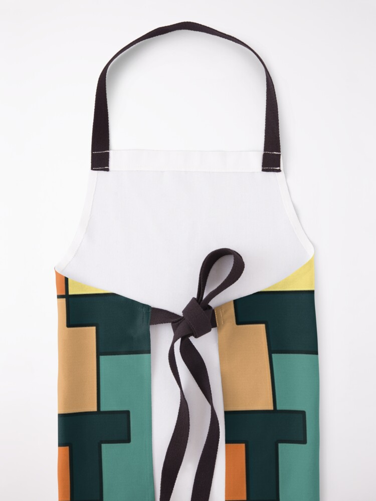 Alternate view of Square pattern Apron