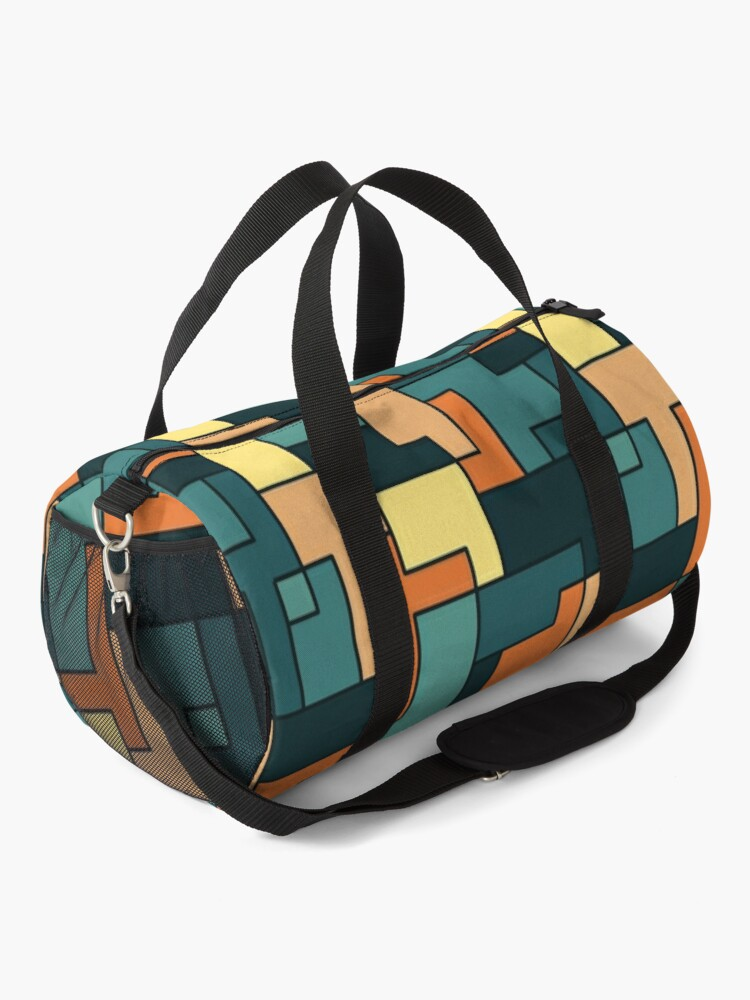 Alternate view of Square pattern Duffle Bag