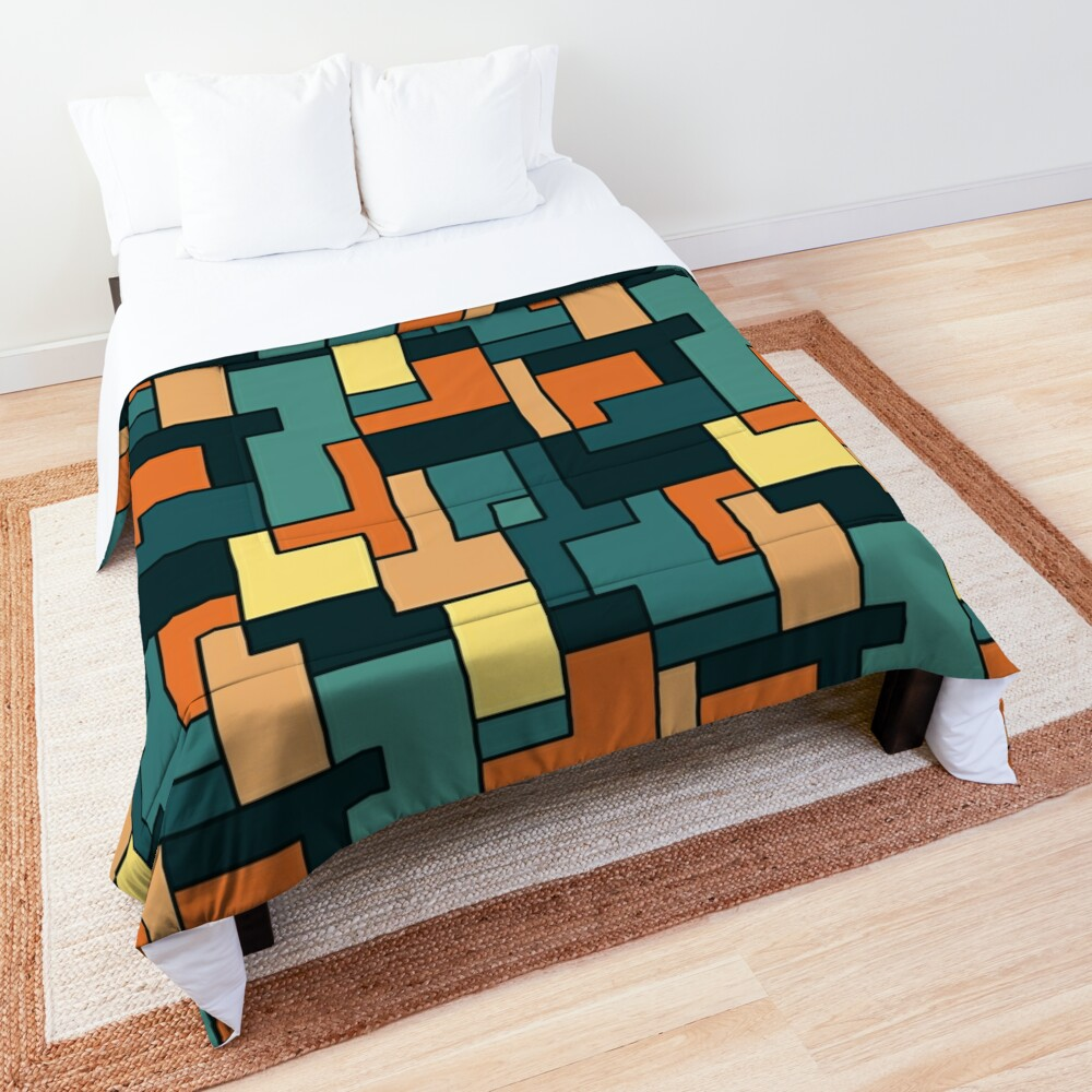 Square pattern Comforter