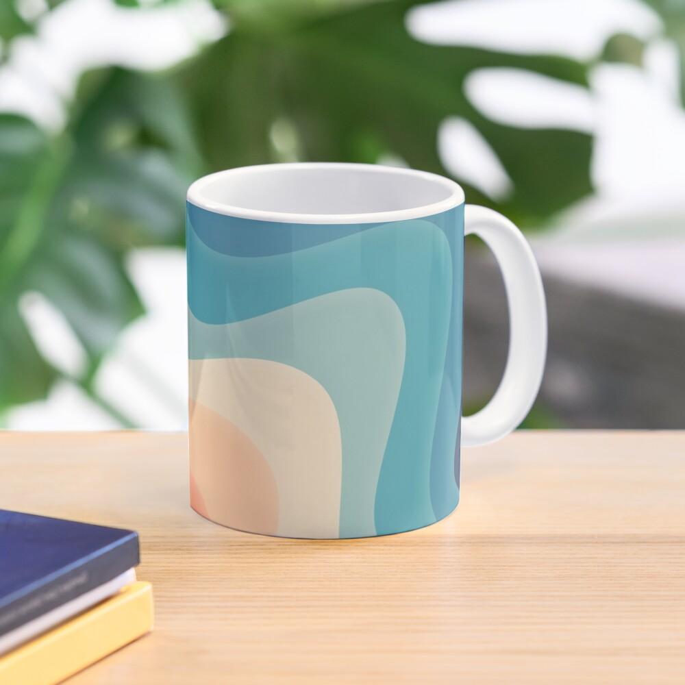 Retro color wave Mug