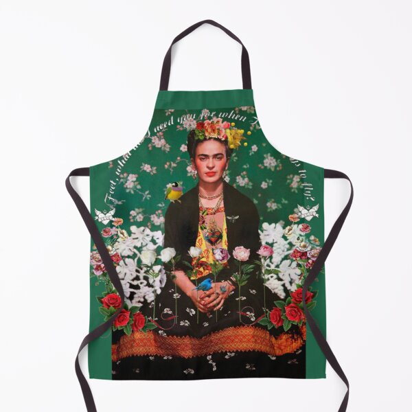 Wings to Fly Frida Kahlo Apron