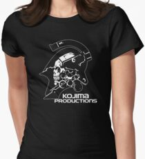 Kojima Productions 2016 New Logo High Reso Print Image Shirt & Pillow Womens Fitted T-Shirt