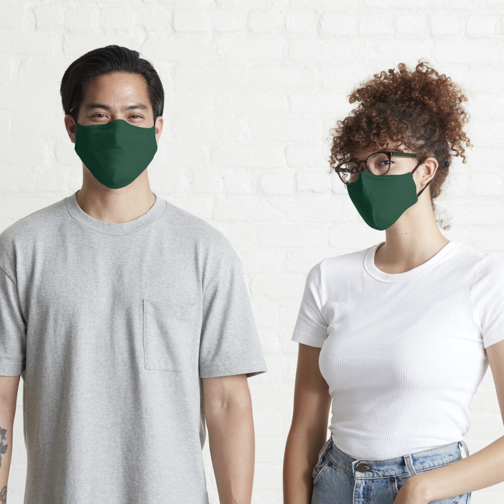 Ultra Deep Emerald Green - Lowest Price On Site Mask