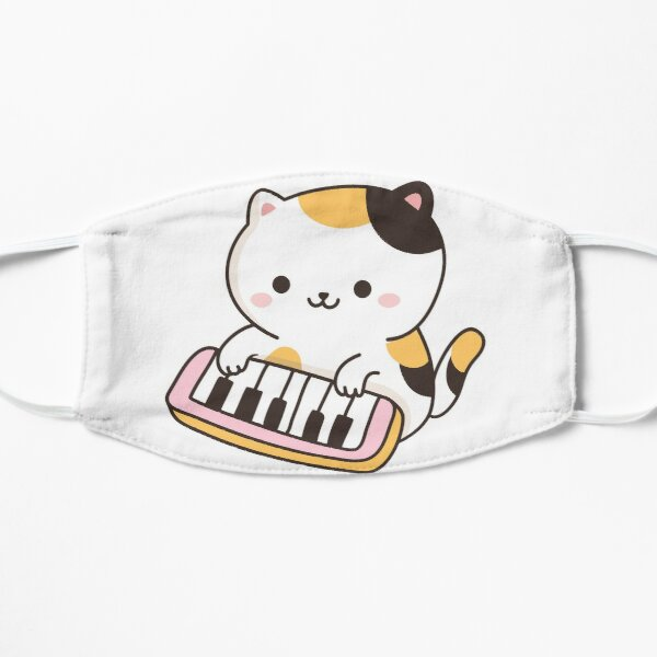 I'd Rather Play My Piano Cat Mask