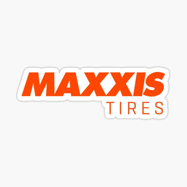 Maxxis Tires Ver 2 Sticker