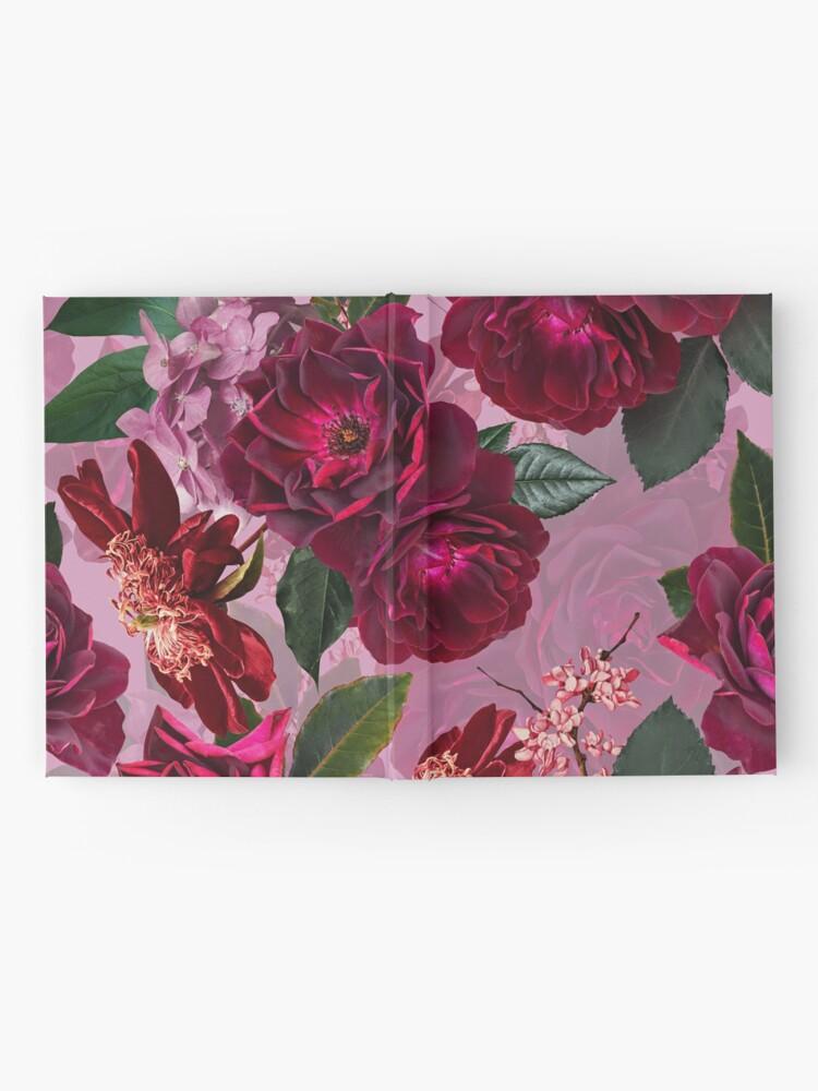 Alternate view of Antique Purple Botanical Flower Rose Garden Hardcover Journal