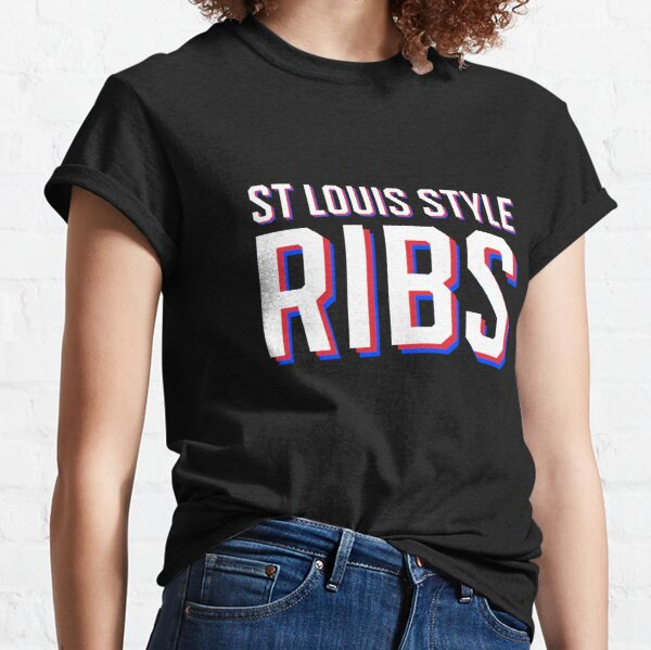 St Louis Style Ribs | I Love St Louis Style Ribs Classic T-Shirt