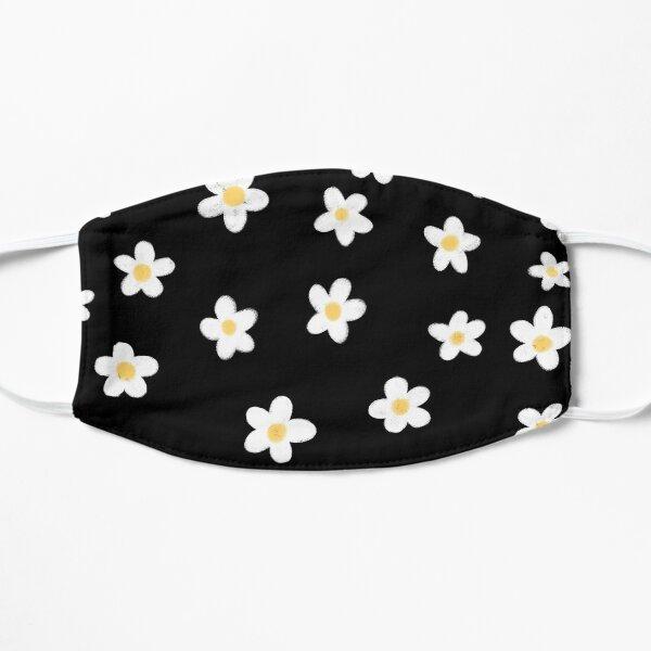 Daisies doodles pattern Flat Mask
