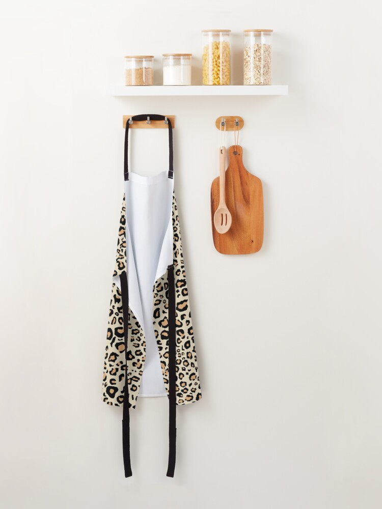 Alternate view of Leopard Animal Print Apron