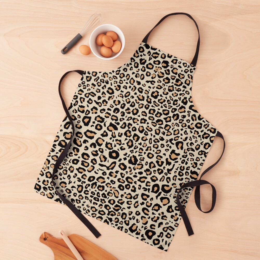 Leopard Animal Print Apron
