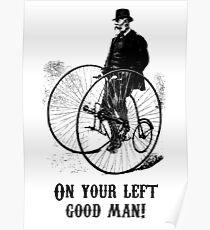 Gentleman Passing Poster