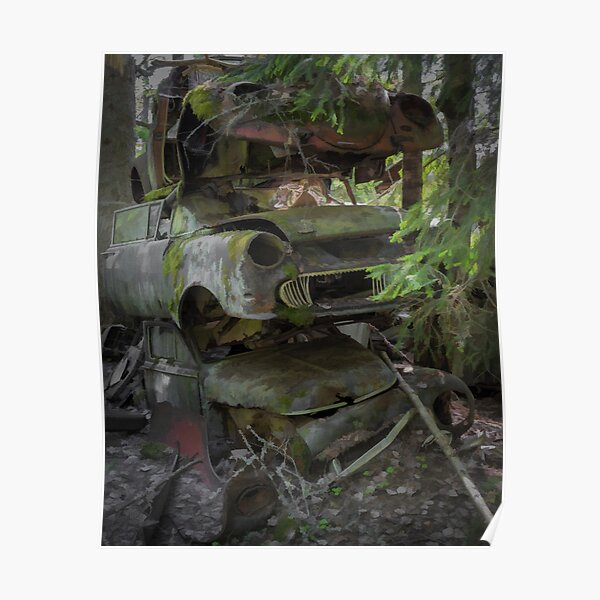 Rusty cars Poster