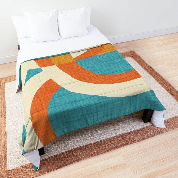 New Mid Mod Freeway Blue #mid-century Comforter