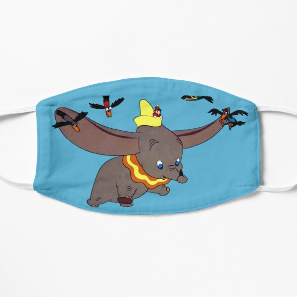 Dumbo takes a trip in the air ... Flat Mask
