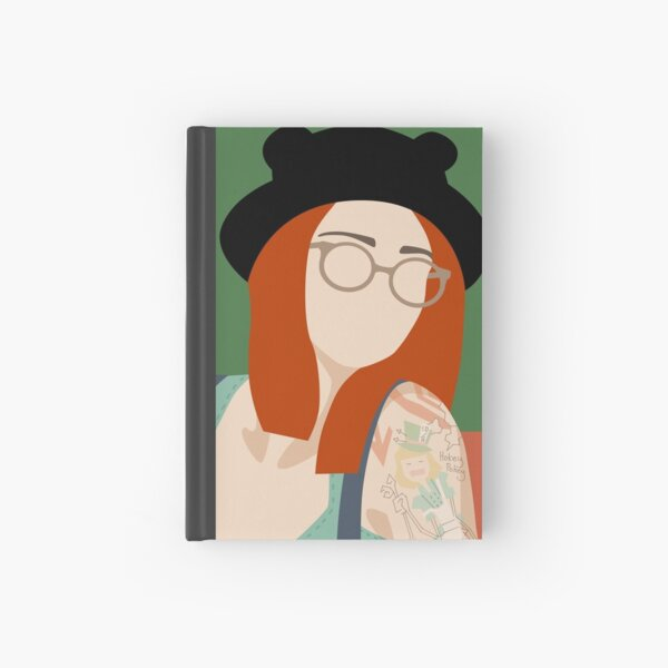 Self Portrait - A Study in Ginger Hardcover Journal