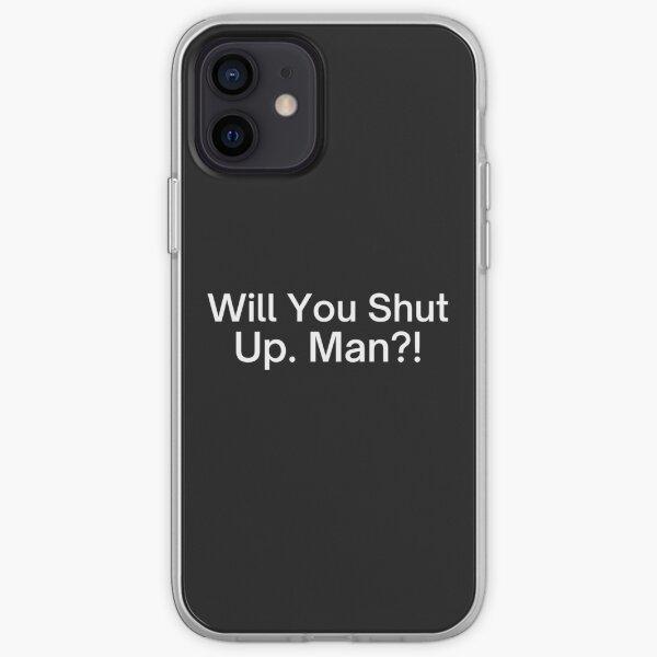 Will You Shut Up Man! Joe Biden Presidential Debate 2020 iPhone Soft Case