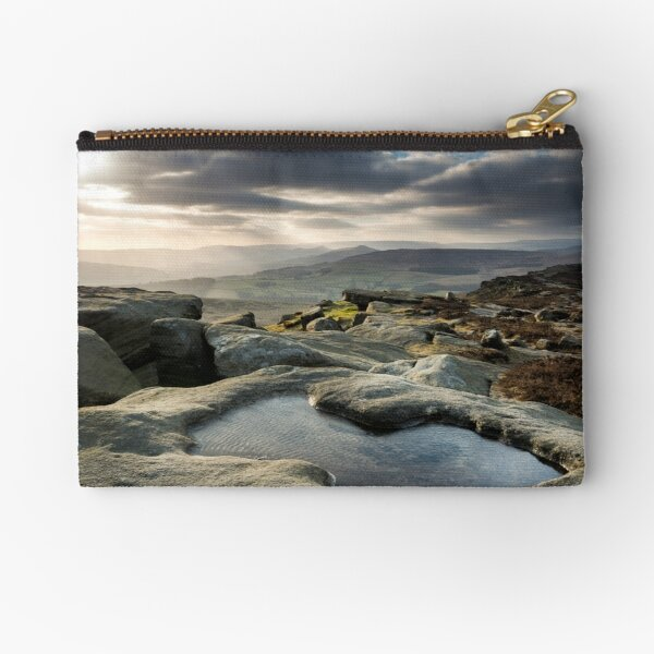 Stanage Edge Pool Zipper Pouch