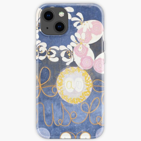 The Largest Ten by Hilma af Klint - Favourite Artist Collection iPhone Soft Case