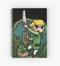 Zelda Attack... Spiral Notebook