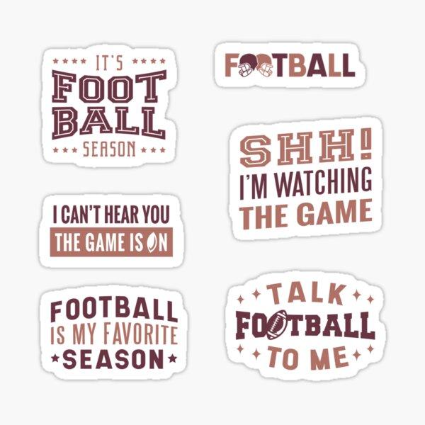 It's Game Day! Do Not Disturb Sticker