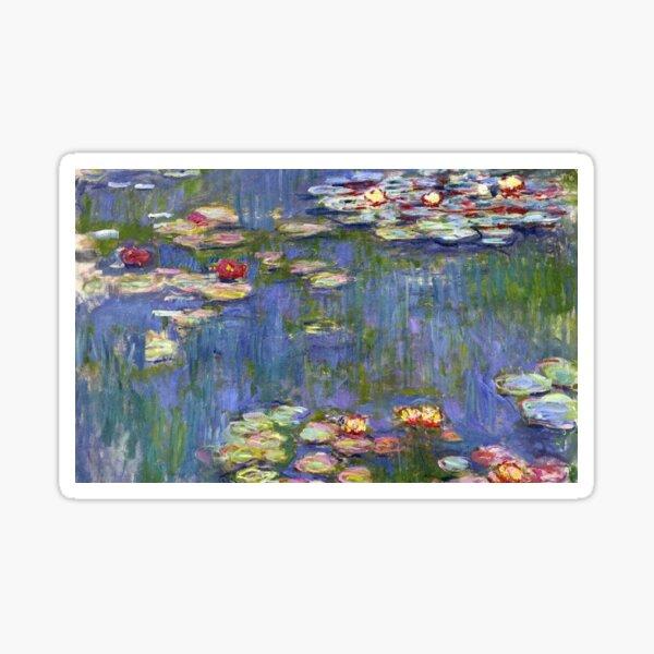Claude Monet - Water Lilies  Sticker