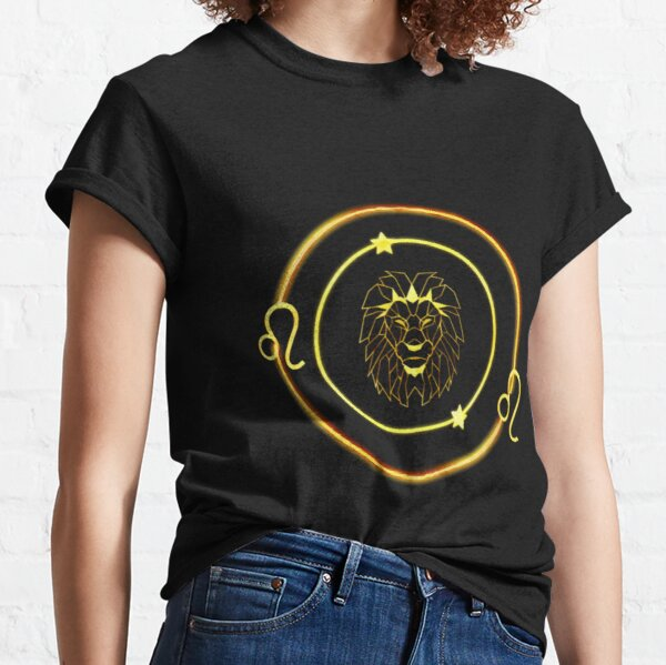 Leo Zodiac sign Design Classic T-Shirt