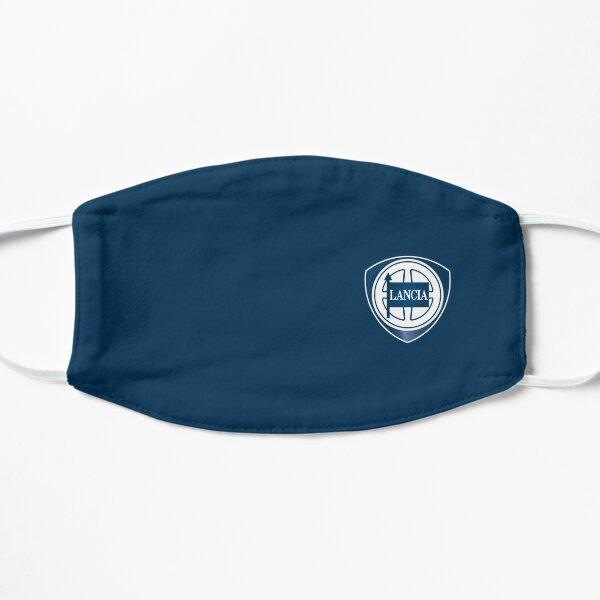 Lancia pequeño logo Mascarilla plana