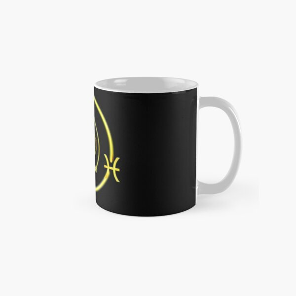 Pisces Zodiac sign art Design Classic Mug