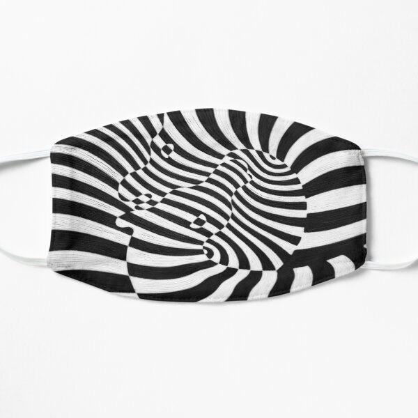 Zebras by Victor Vasarely Mask