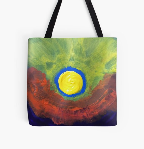 The Dawn Melts the Night All Over Print Tote Bag