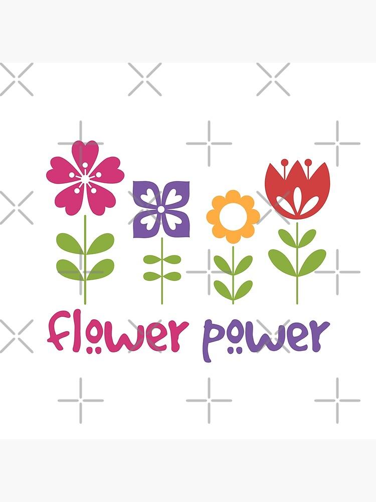 Flower Power by MyMadMerch