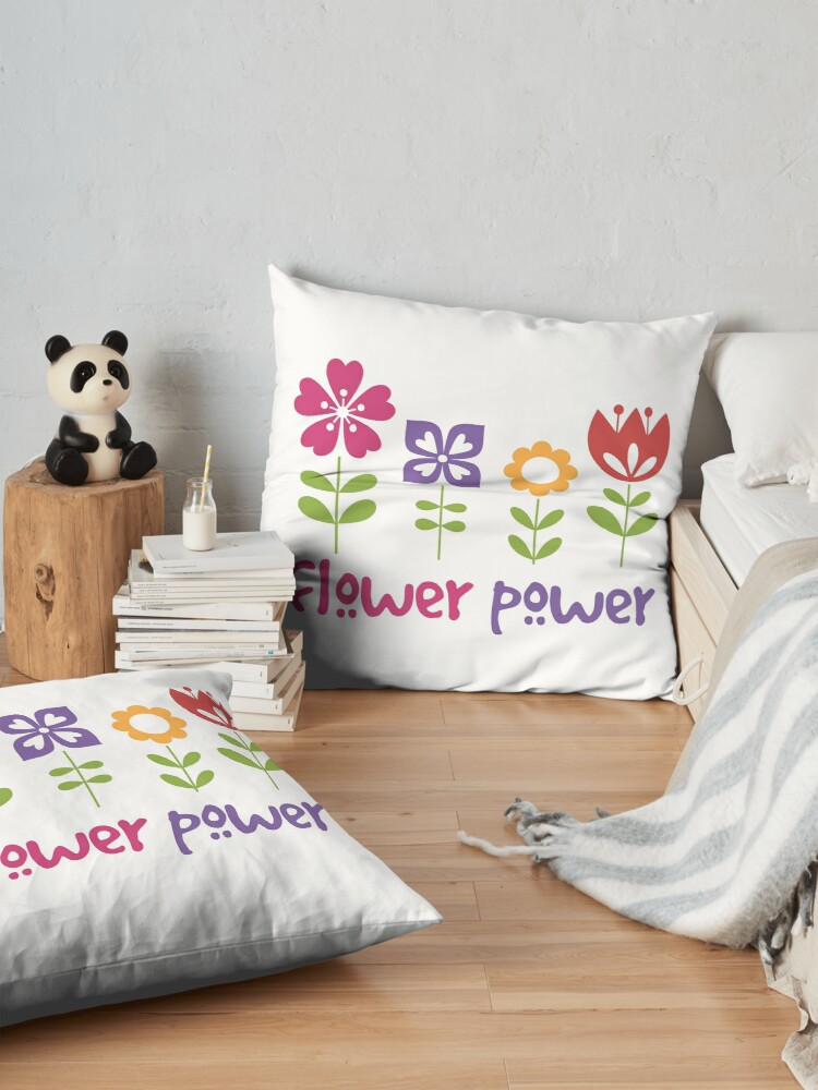 Alternate view of Flower Power Floor Pillow