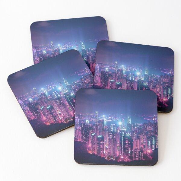 Hong Kong Neo Future Coasters (Set of 4)