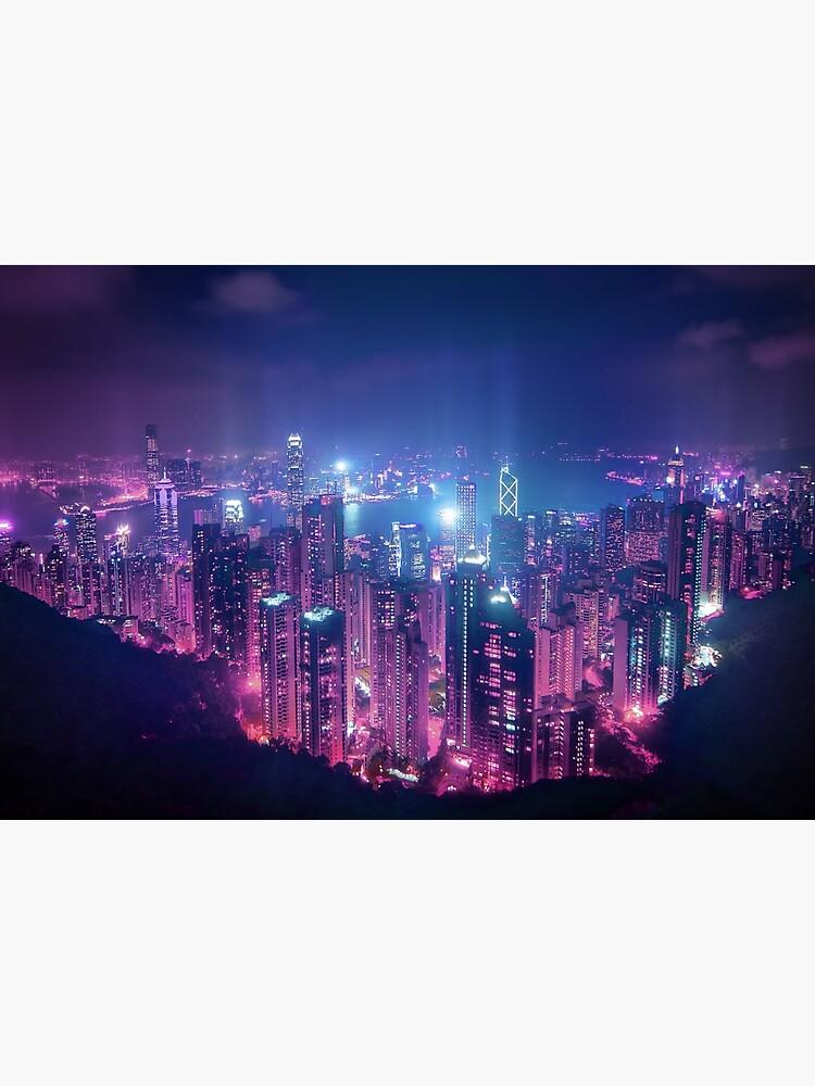 Hong Kong Neo Future by TokyoLuv