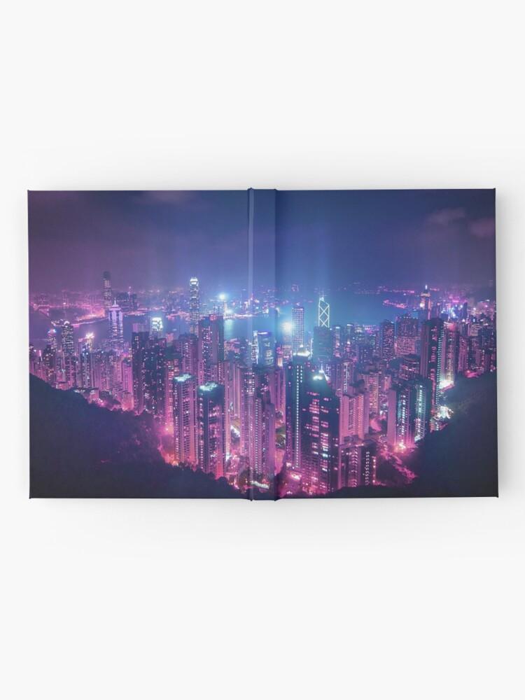 Alternate view of Hong Kong Neo Future Hardcover Journal