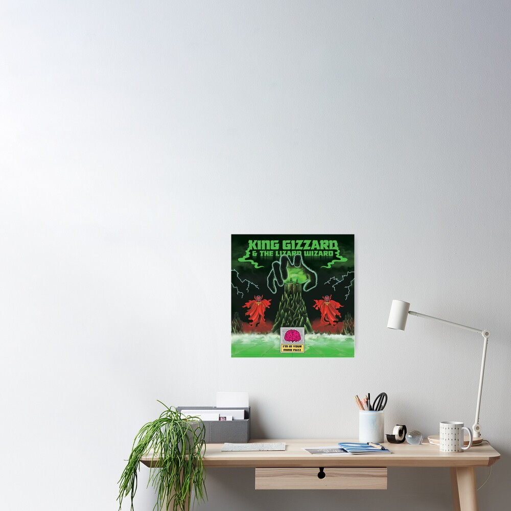King Gizzard I'm In Your Mind Fuzz Poster