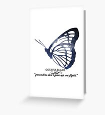 The 100's Octavia Blake Graphic Greeting Card