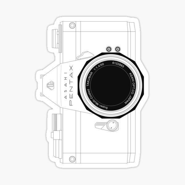 Camera#1 Sticker