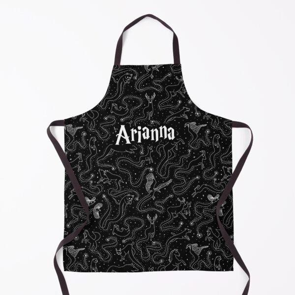 Arianna - Animals Patronum Black Pattern Apron