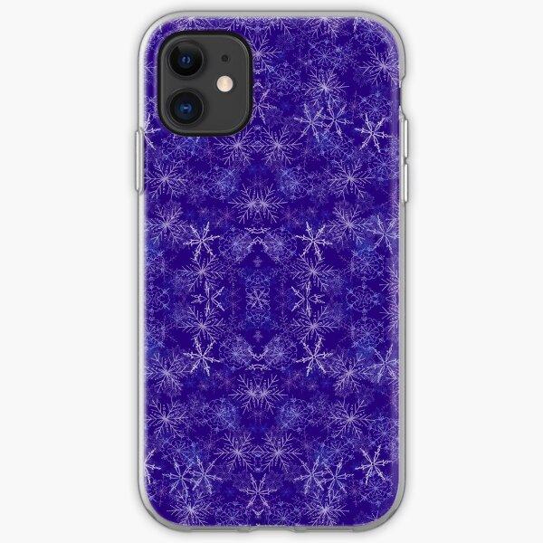 Snow Falling on Main Street iPhone Soft Case