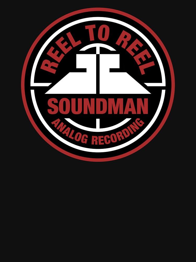 Reel To Reel Soundman by felinson