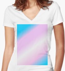Gradients Women's Fitted V-Neck T-Shirt