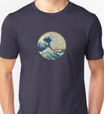 Ponyo and The Great Wave off Kanagawa VINTAGE Unisex T-Shirt