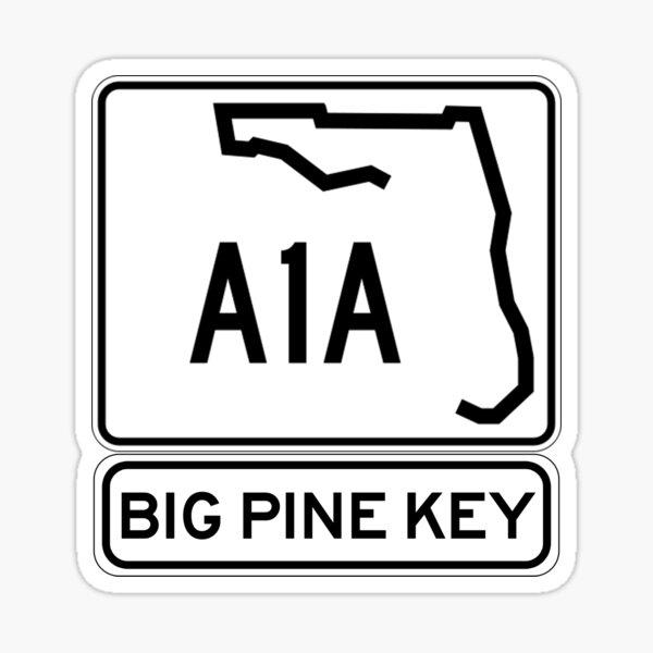 A1A - Big Pine Key Sticker