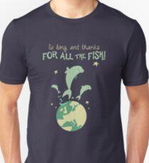 Gracias por el pez! Camiseta unisex