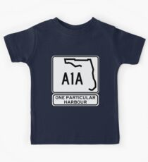 There's this one particular harbour... Kids Tee