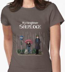 My Neighbor Sherlock Women's Fitted T-Shirt