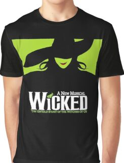 Wicked Broadway Musical - Untold Story about Wizard Of Oz - T-Shirt Graphic T-Shirt