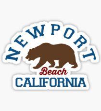 Newport Beach - California. Sticker